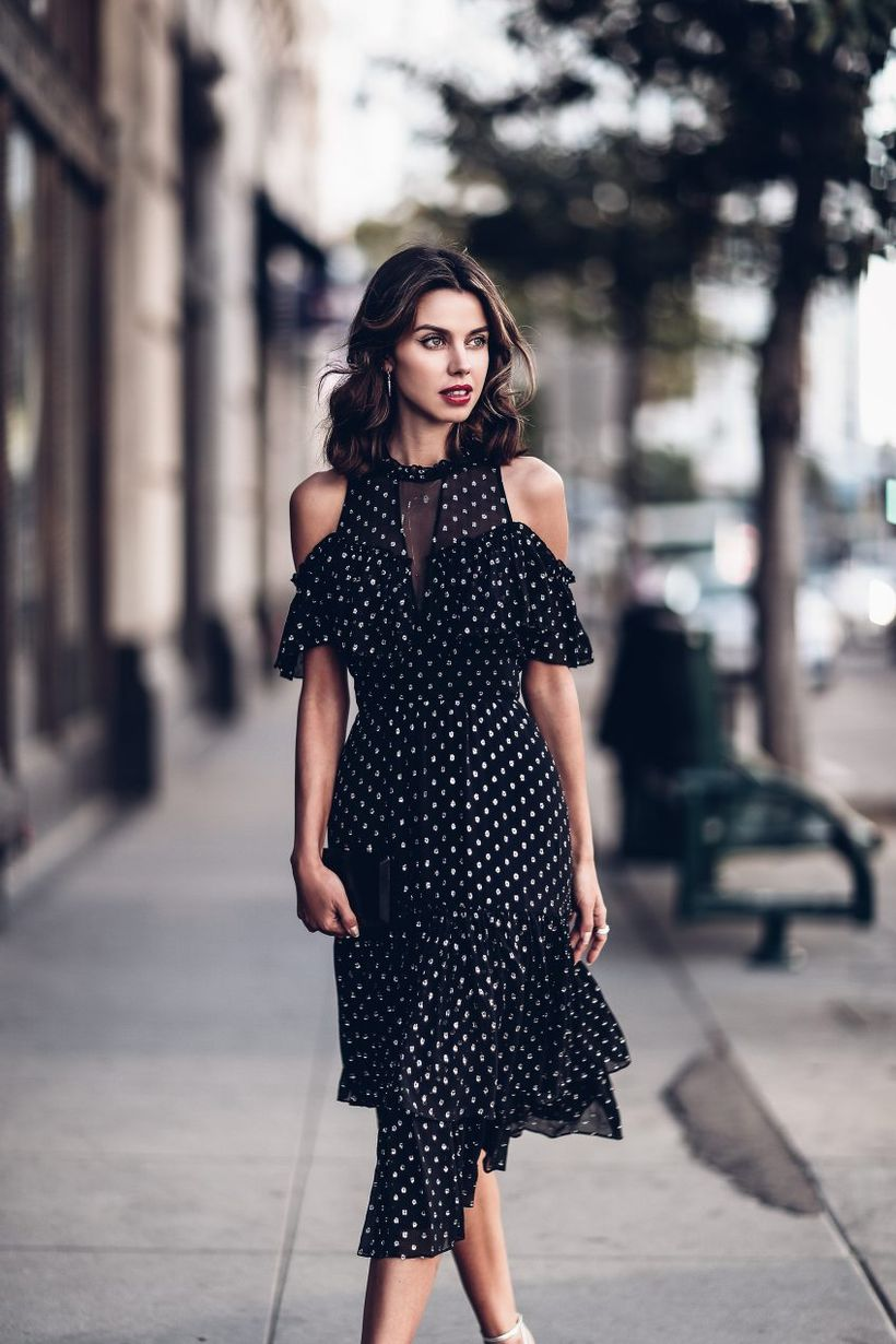 Stylish open shoulder dress outfits 2017 29