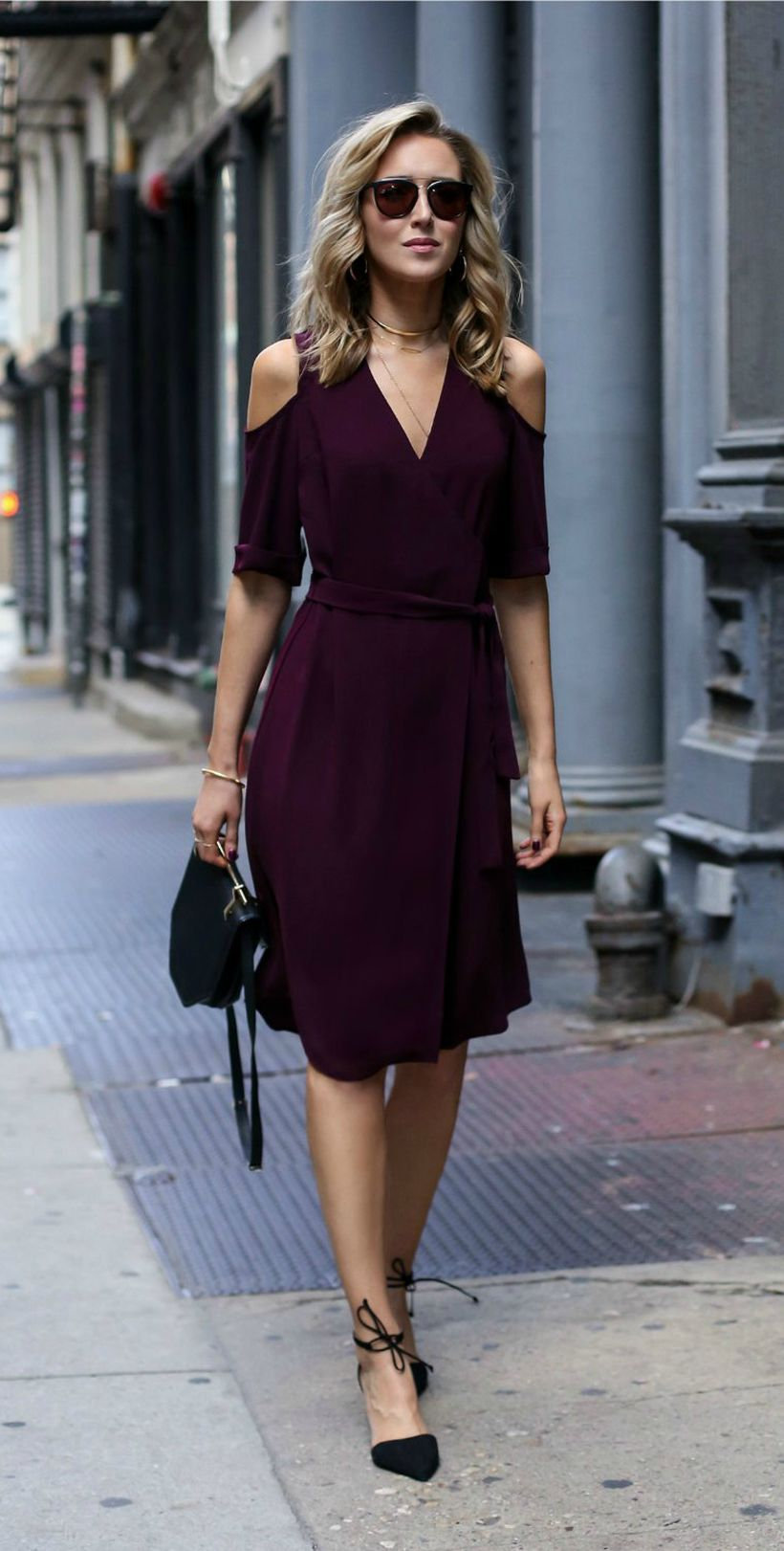 Stylish open shoulder dress outfits 2017 32