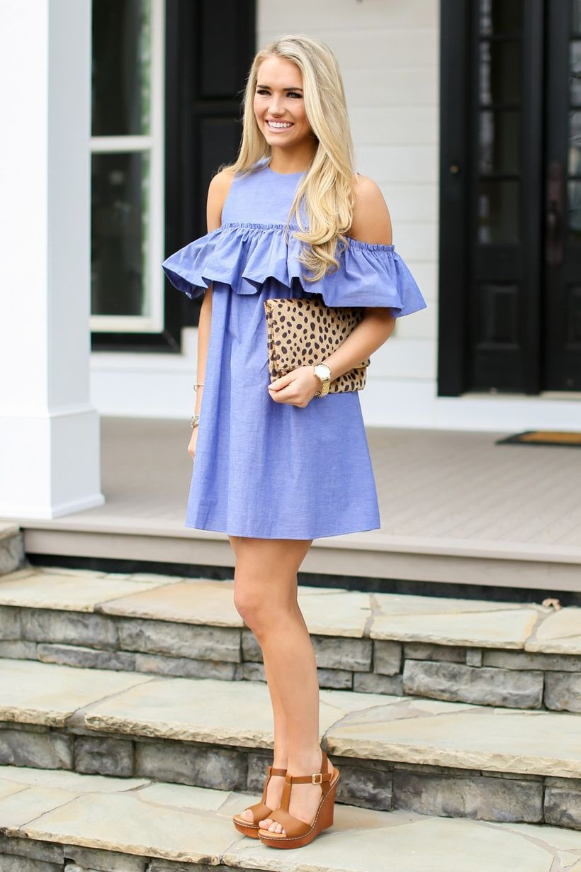 Stylish open shoulder dress outfits 2017 38
