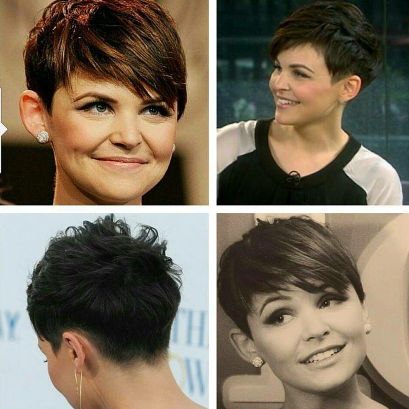 Stylist back view short pixie haircut hairstyle ideas 4