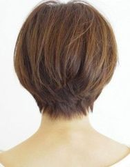 Stylist back view short pixie haircut hairstyle ideas 5