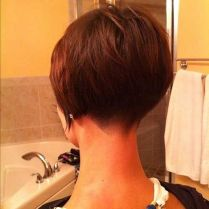 Stylist back view short pixie haircut hairstyle ideas 52