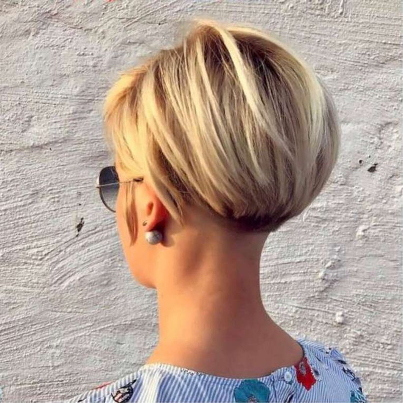 very short bob hairstyles back view stylist back view short pixie haircut hairstyle ideas 55