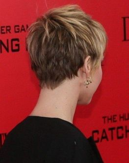 Stylist back view short pixie haircut hairstyle ideas 57