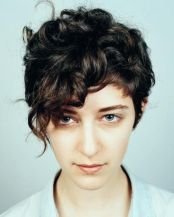 Stylist naturally curly haircuts ideas 15