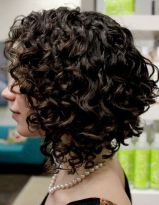 Stylist naturally curly haircuts ideas 46