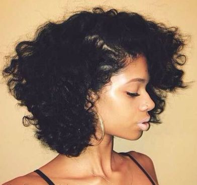 Stylist naturally curly haircuts ideas 48