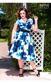 Vintage plus size rockabilly fashion style outfits ideas 10
