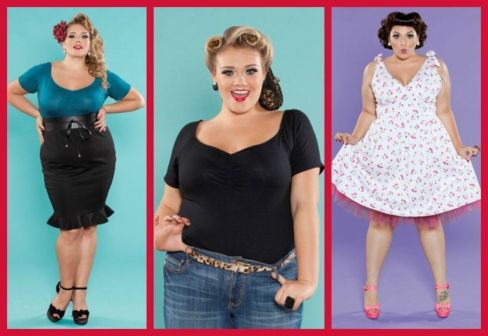 Vintage plus size rockabilly fashion style outfits ideas 21