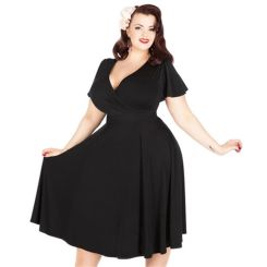 Vintage plus size rockabilly fashion style outfits ideas 31