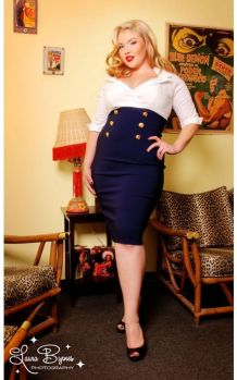 Vintage plus size rockabilly fashion style outfits ideas 36