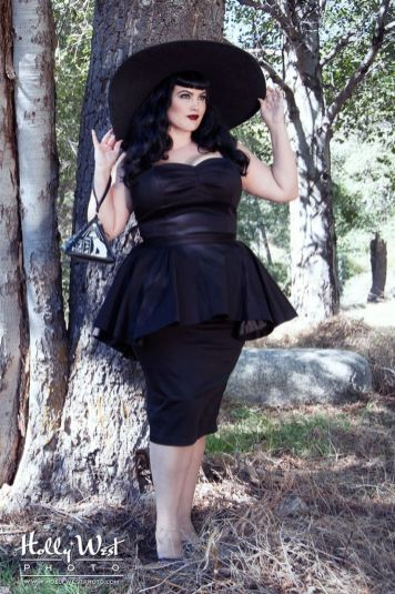 Vintage plus size rockabilly fashion style outfits ideas 43