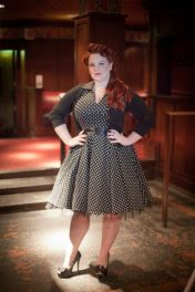 Vintage plus size rockabilly fashion style outfits ideas 59