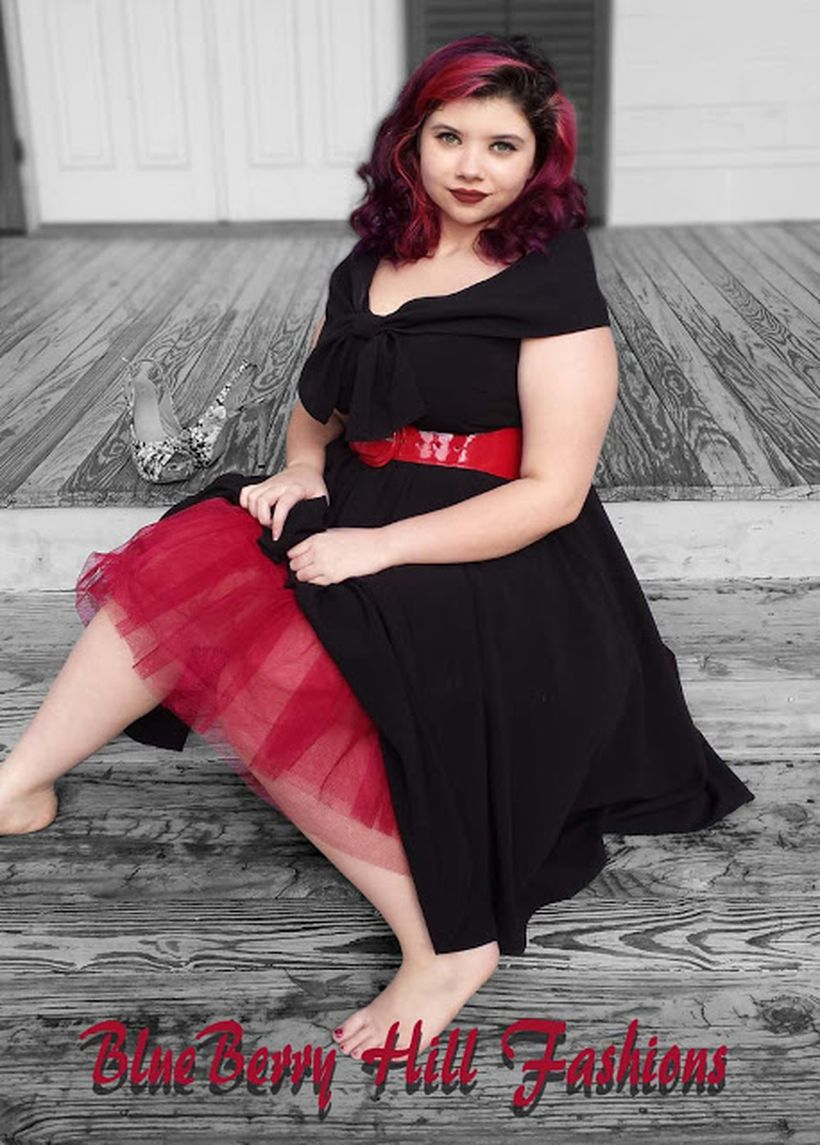 Vintage plus size rockabilly fashion style outfits ideas 64