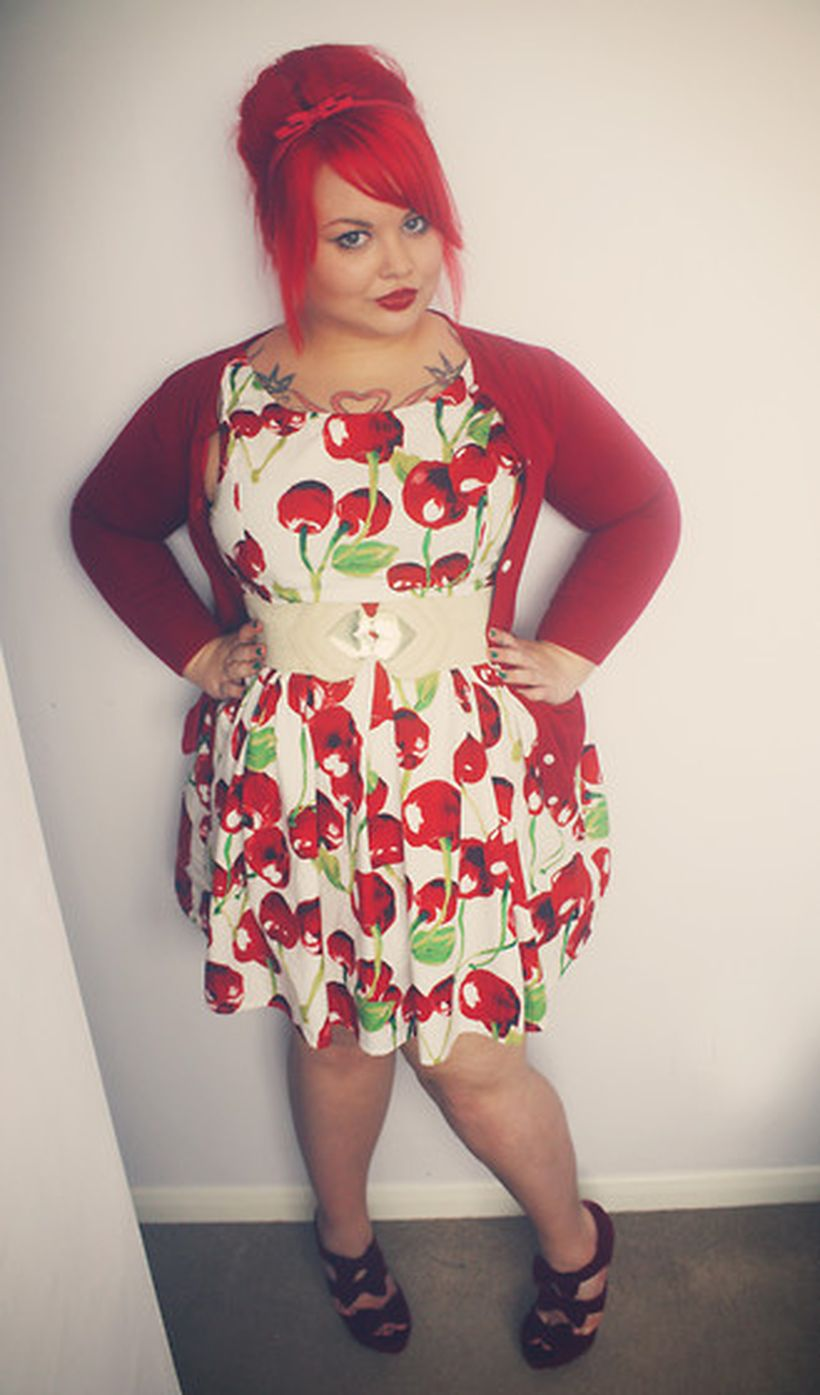 Vintage plus size rockabilly fashion style outfits ideas 66