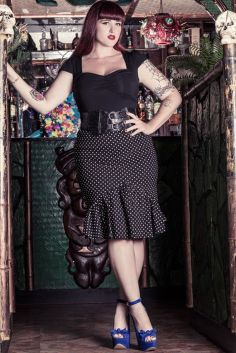 Vintage plus size rockabilly fashion style outfits ideas 75
