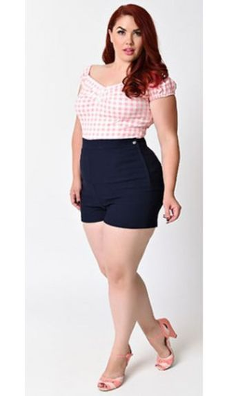 Vintage plus size rockabilly fashion style outfits ideas 8