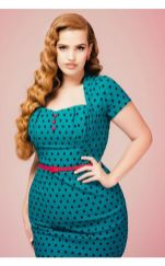 Vintage plus size rockabilly fashion style outfits ideas 85
