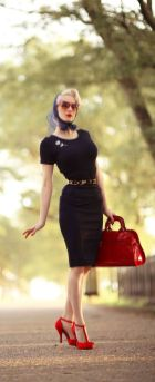 Vintage rockabilly fashion style outfits 10