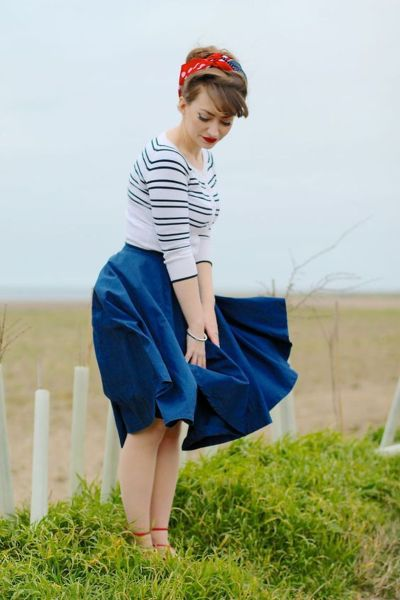 Vintage rockabilly fashion style outfits 12