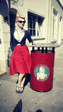 Vintage rockabilly fashion style outfits 31