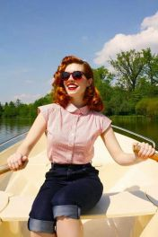 Vintage rockabilly fashion style outfits 36