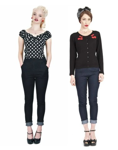 Vintage rockabilly fashion style outfits 37
