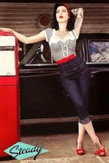 Vintage rockabilly fashion style outfits 42