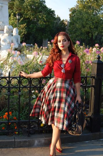 Vintage rockabilly fashion style outfits 56