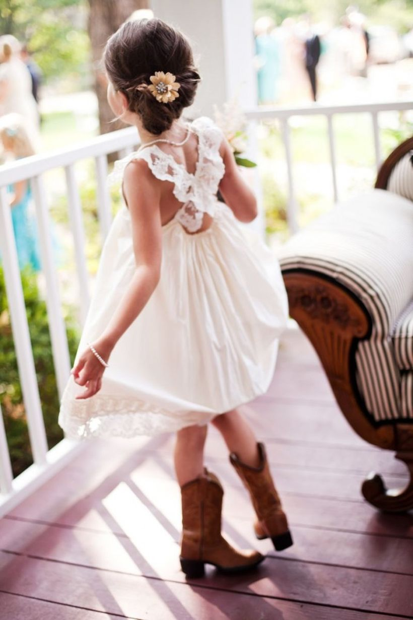 Vintage wedding outfit with country boots 57