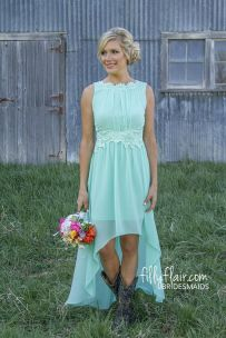 Vintage wedding outfit with country boots 6