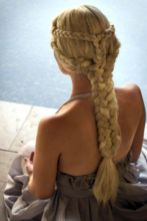 Amazing khaleesi game of thrones hairstyle ideas 12