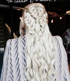 Amazing khaleesi game of thrones hairstyle ideas 36