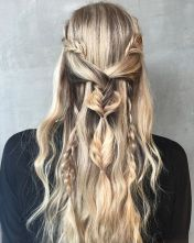 Amazing khaleesi game of thrones hairstyle ideas 55