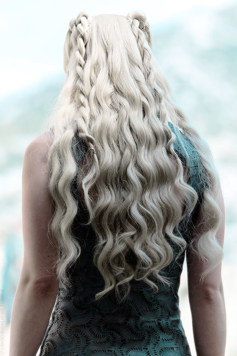 Amazing khaleesi game of thrones hairstyle ideas 56