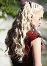 Amazing khaleesi game of thrones hairstyle ideas 58