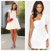 Amazing white short dresses ideas for party outfits 10