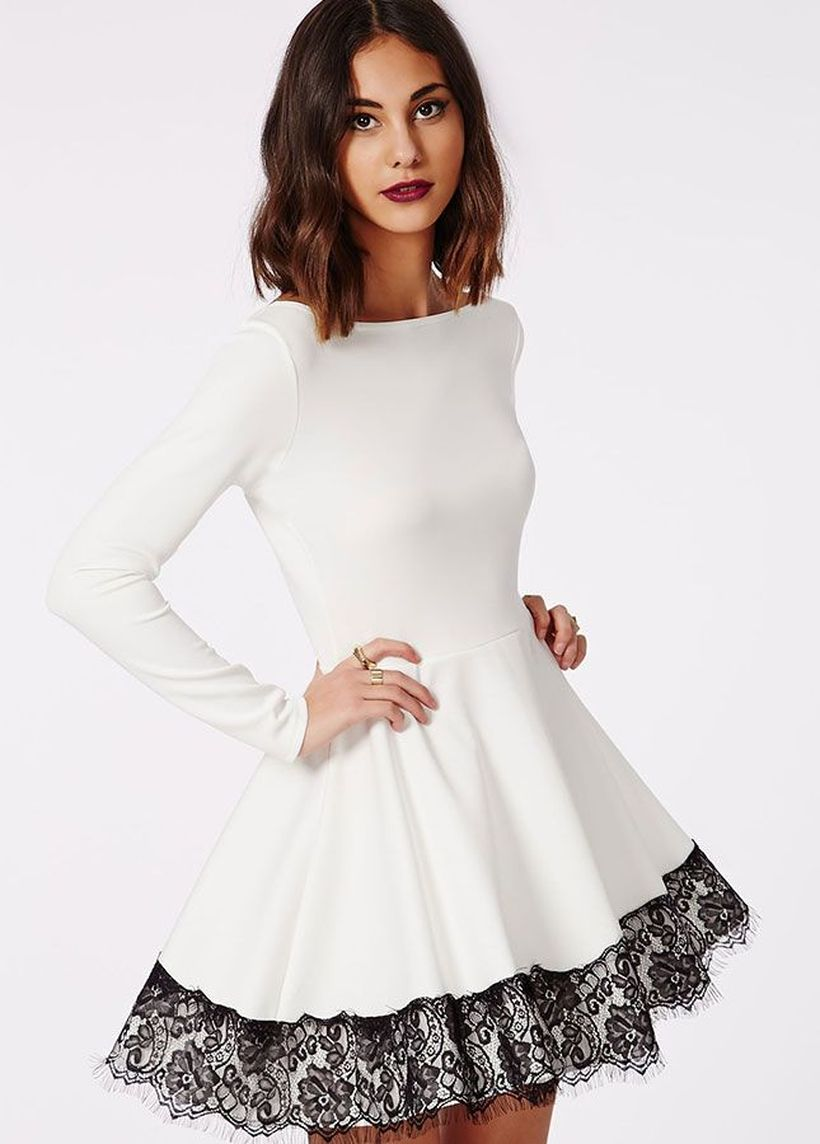 Amazing white short dresses ideas for party outfits 2