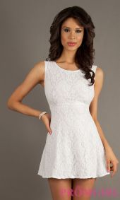 Amazing white short dresses ideas for party outfits 40