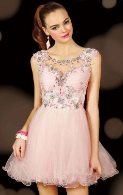 Awesome teens short dresses ideas for graduation outfits 12