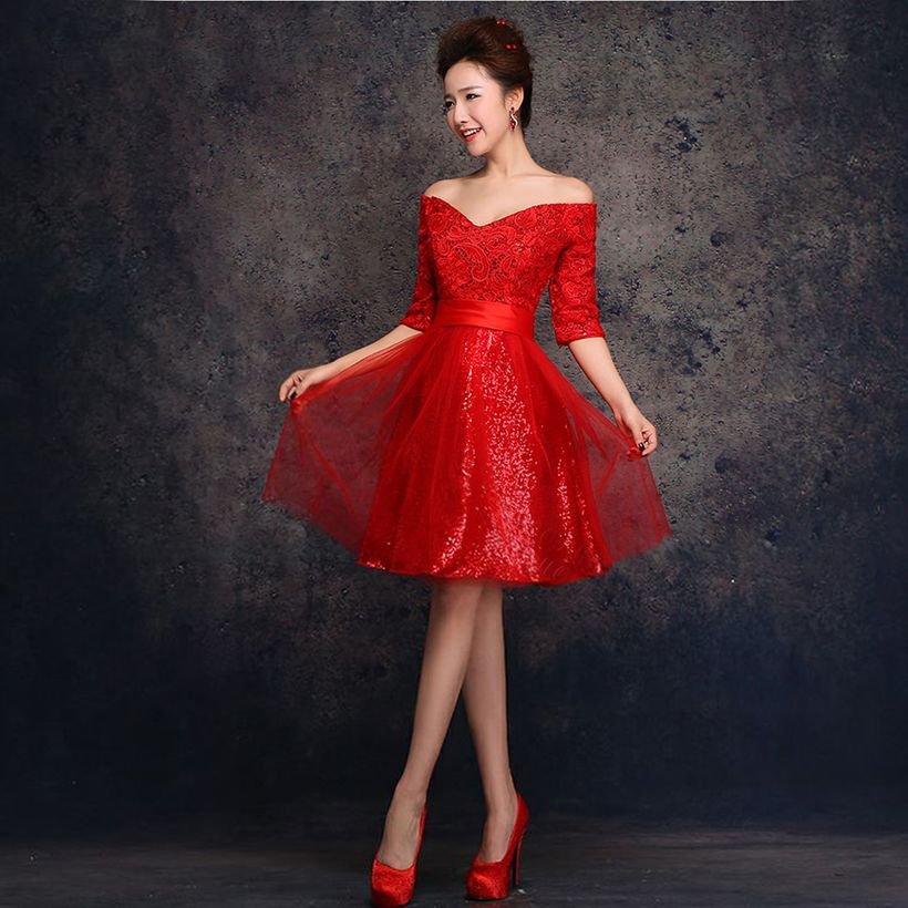 Awesome teens short dresses ideas for graduation outfits 139