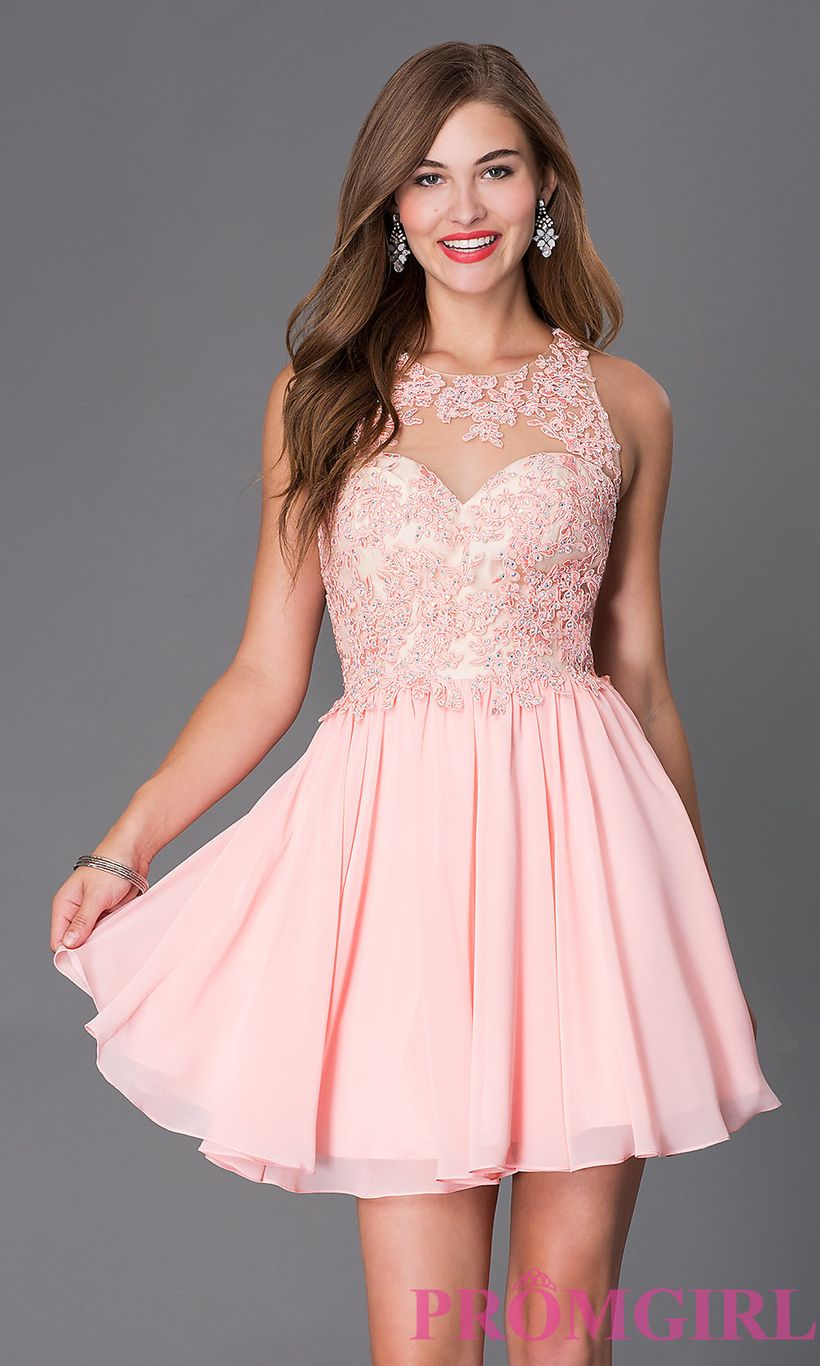 Awesome teens short dresses ideas for graduation outfits 157