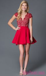 Awesome teens short dresses ideas for graduation outfits 203