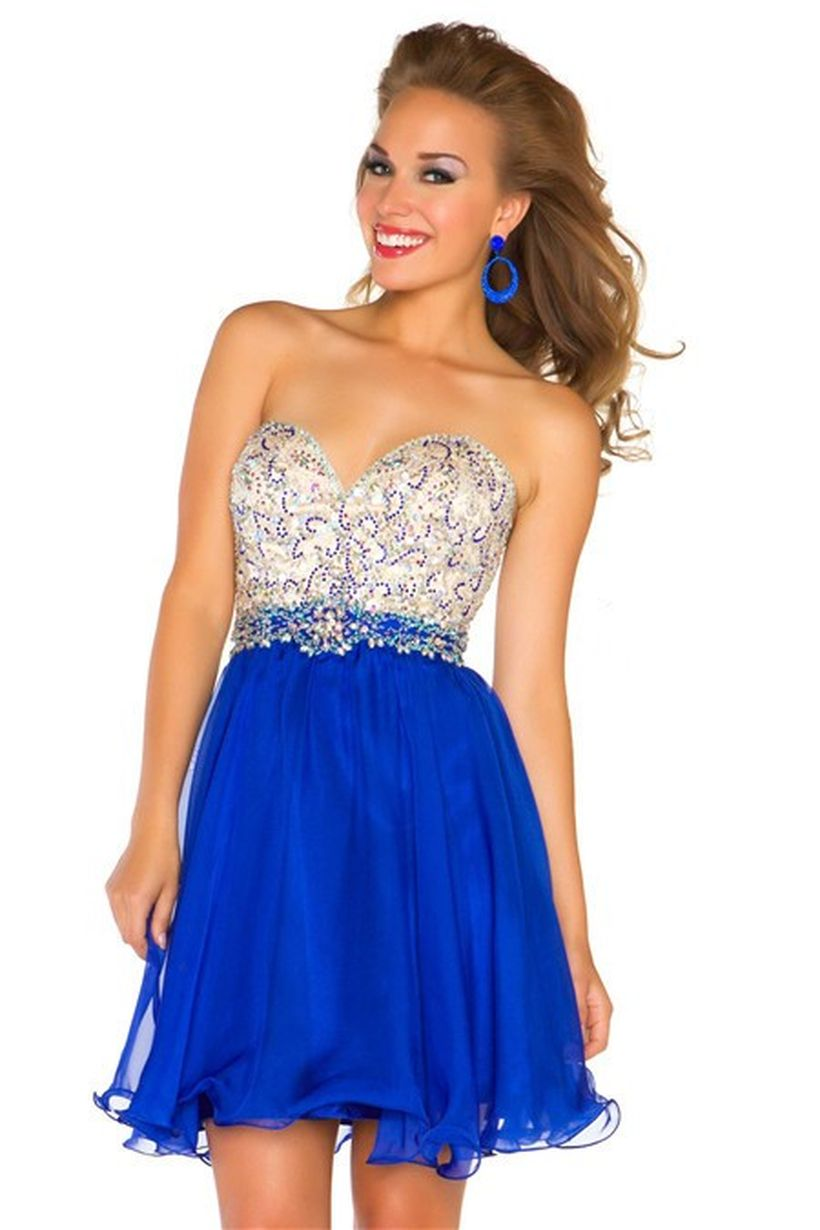 Awesome teens short dresses ideas for graduation outfits 24
