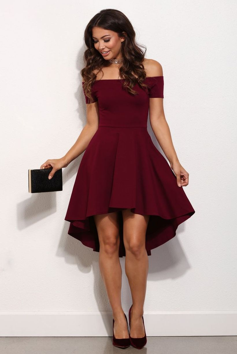 Awesome teens short dresses ideas for graduation outfits 3