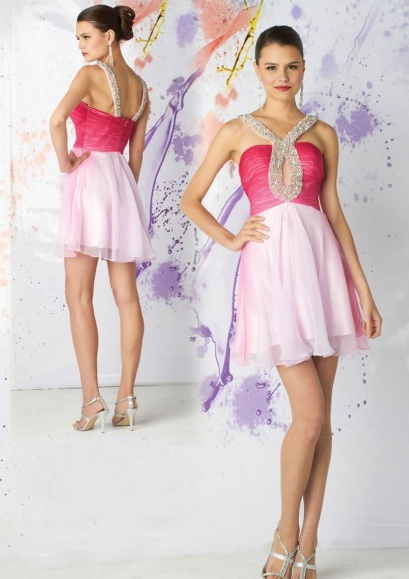 Awesome teens short dresses ideas for graduation outfits 5