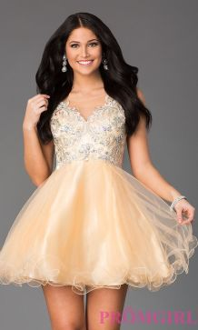 Awesome teens short dresses ideas for graduation outfits 71