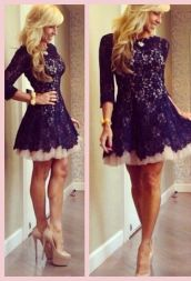 Awesome teens short dresses ideas for graduation outfits 86