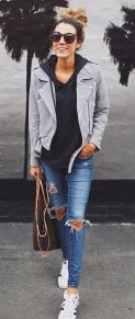 Cool casual street style outfit ideas 2017 56