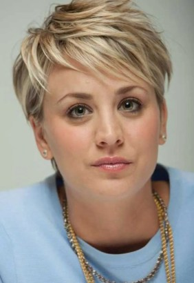 Cool short pixie blonde hairstyle ideas 104